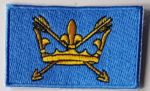 Suffolk Embroidered Flag Patch, style 04